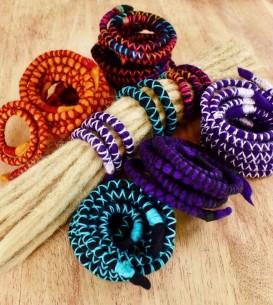 Bendable Dread Tie, Wool...