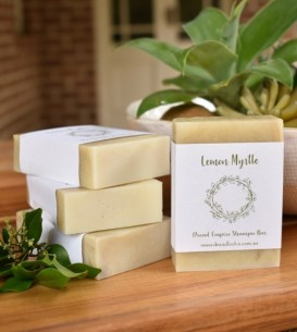 Shampoo Bar 100gm ~ Lemon Myrtle + Australian Green Clay