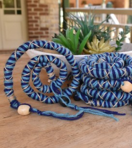 60cm Blue Chunky Bendable...