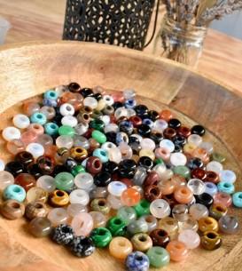 5 x Mixed Gemstone Beads