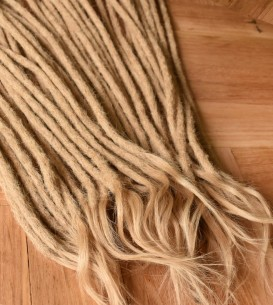 10 x Crocheted Human Hair...