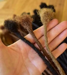 10 x AFRO Human Hair...