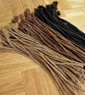 50 x AFRO Human Hair...