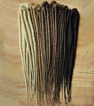 Double Ended Dreadlocks - Backcombed & Twist Synthetic